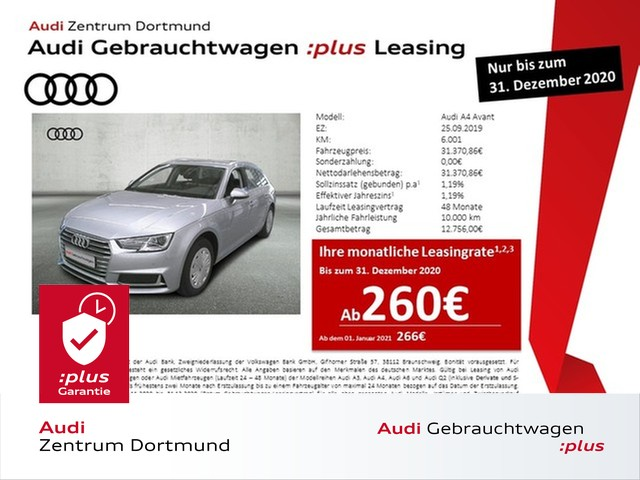 Audi A4 Avant sport 35TFSI Navi/Xenon/STHZ/AHK, Jahr 2019, Benzin