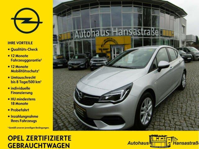 Opel Astra 1.2 Turbo Edition Klimaanlage Tempomat, Jahr 2019, Benzin