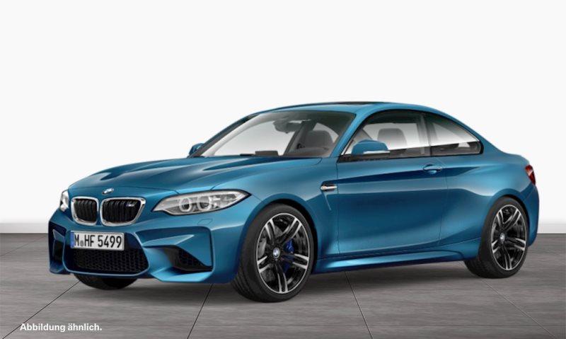 BMW M2 Coupé DKG Leder M Drivers P. HK HiFi GSD RFK Shz, Jahr 2017, petrol