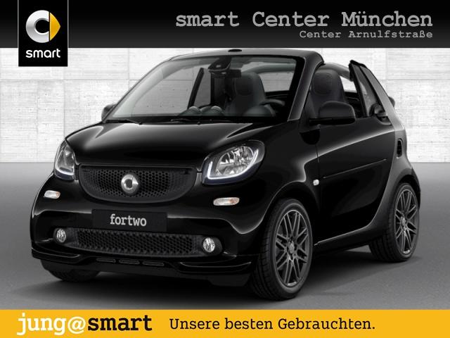 smart fortwo cabrio 66kW BRABUS DCT cool&Media Sport SHZ, Jahr 2016, Benzin