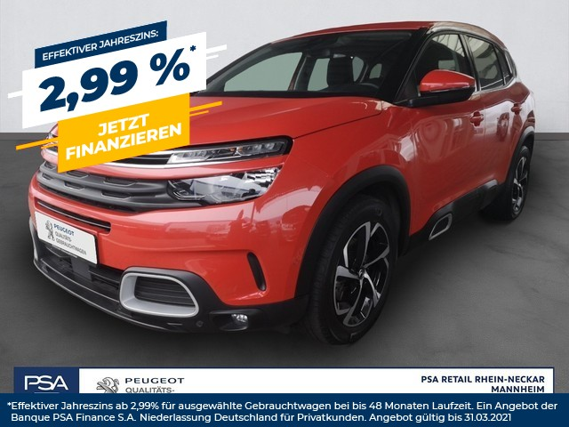 Citroën C5 LIVE Aircross BlueHDI 180 S&S EAT8*EPH*RFK*SHZ*AHK*, Jahr 2019, Diesel