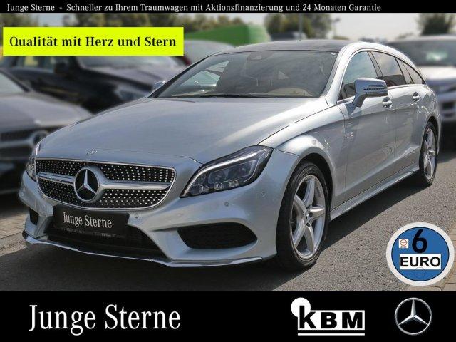 Mercedes-Benz CLS 250 d SB AMG °COMAND°LED+AFA°TWA°SHZ°AL°360°, Jahr 2015, diesel