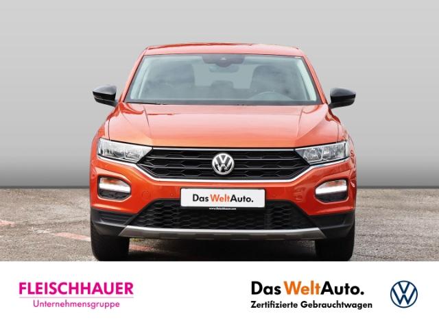 Volkswagen T-Roc United 1.5 TSI ACT NAVI STANDHEIZUNG KLIMA SHZ PDC, Jahr 2020, Benzin