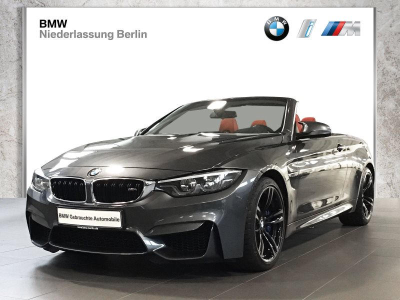 BMW M4 Cabrio EU6 DKG LED NaviPr. HiFi h/k Head-Up, Jahr 2017, Benzin