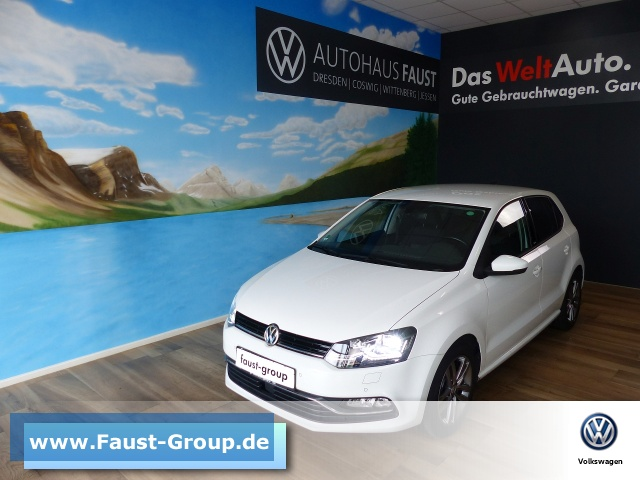 Volkswagen Polo Allstar UPE 21000 EUR Navi LED Climatronic, Jahr 2016, Benzin