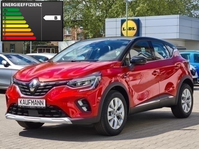 Renault Captur II Intens 1.3 TCe 140 EDC, LED Navi Keyless Parklenkass. Rückfahrkam. Fernlichtass., Jahr 2021, Benzin