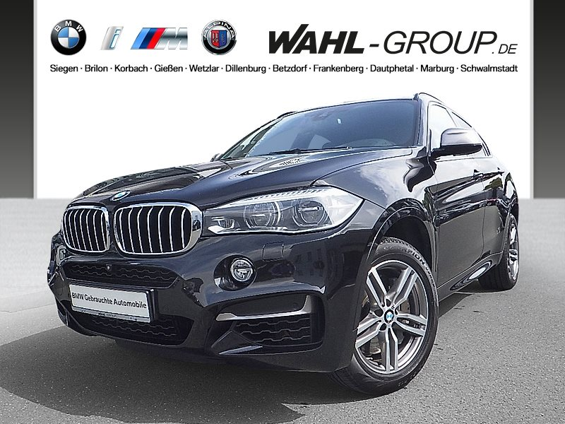 BMW X6 M50d | EURO 6 | LED AHK Head-Up, Jahr 2016, Diesel