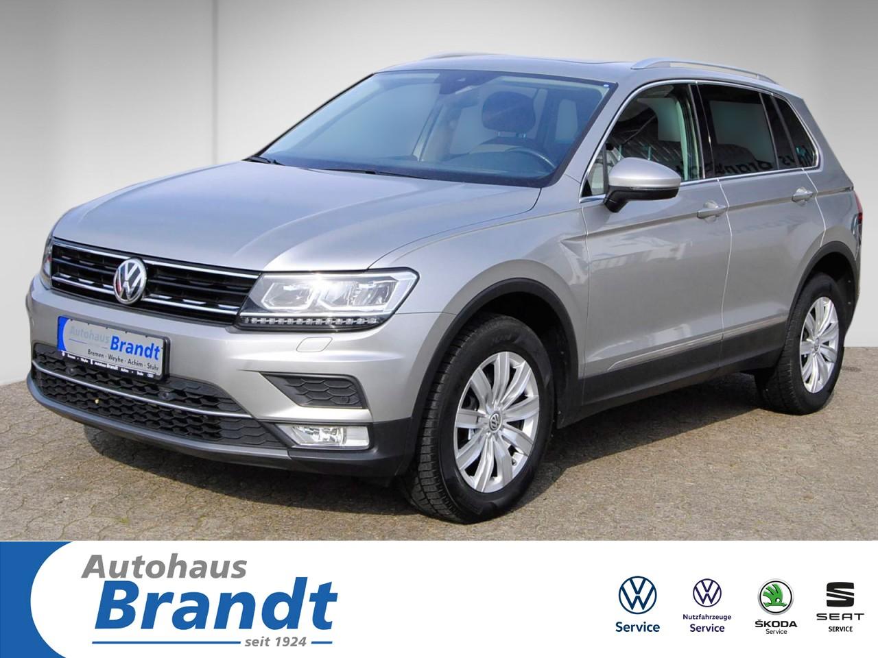 Volkswagen Tiguan 2.0 TDI DSG*4M*LED*NAVI*ACC*PANO*PDC*SHZ, Jahr 2017, Diesel