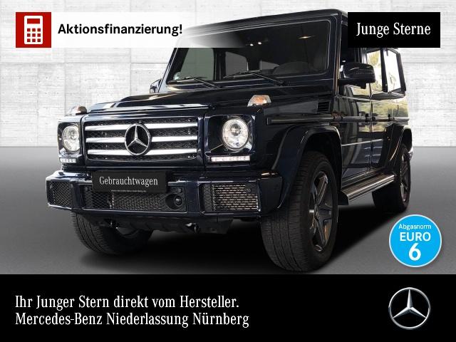 Mercedes-Benz G 500 Sportpaket Verstellfahrw Distroni Exklusiv, Jahr 2017, petrol