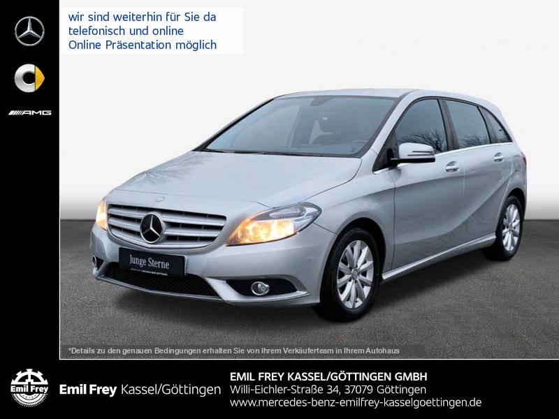 Mercedes-Benz B 180 + AHK+Alufelgen+Sitzhzg+ChromPaket, Jahr 2013, Benzin