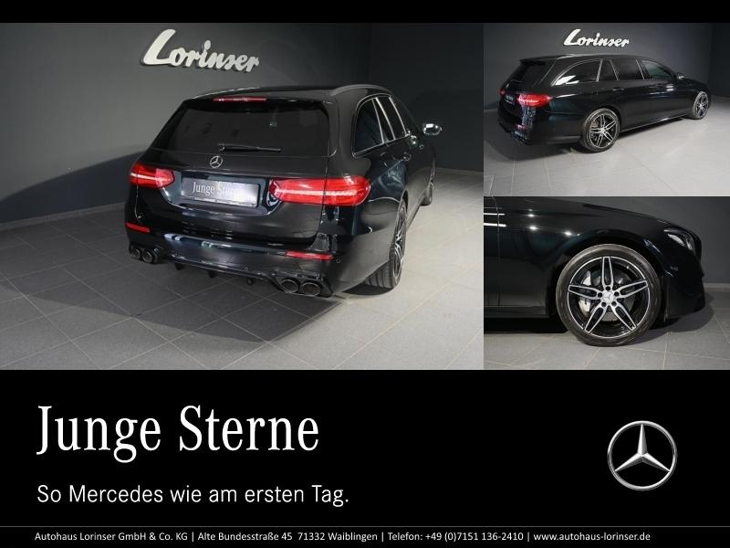 Mercedes-Benz E 53 AMG 4M+ T COMAND/DISTR./LED/KAMERA/EASYPACK, Jahr 2018, Benzin