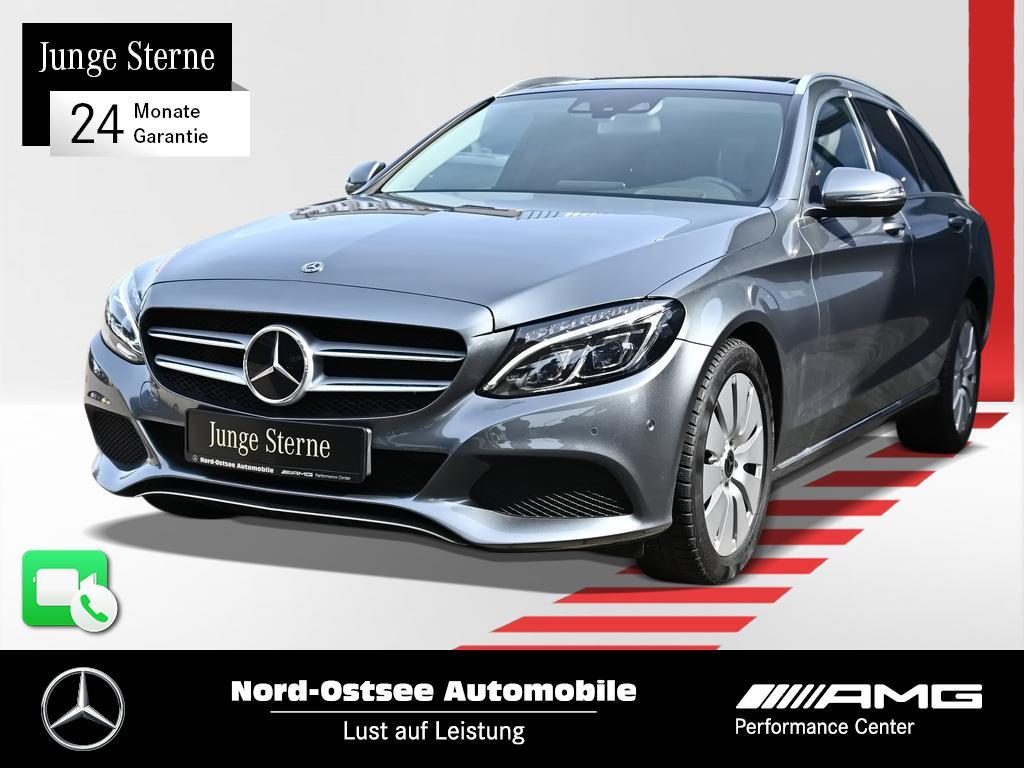 Mercedes-Benz C 250 d T Avantgarde Comand Multibeam HUD Pano, Jahr 2017, Diesel