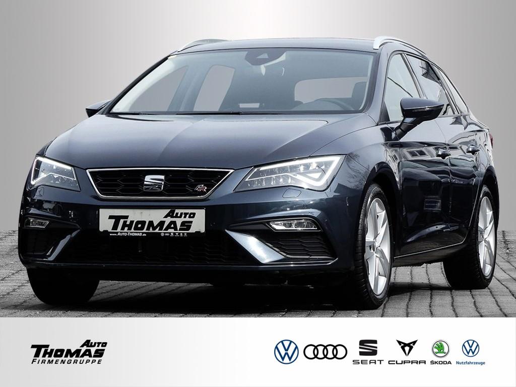 Seat Leon Sportstourer Black Matt Edition 1.5 TSI LED+NAVI+KESSY, Jahr 2020, Benzin