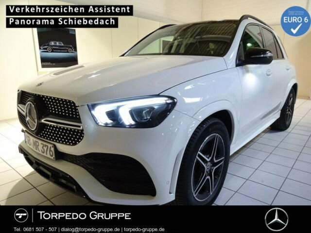 Mercedes-Benz GLE 300 d 4M AMG LED+NIGHT+PANO+KAMERA+PTS+KLIMA, Jahr 2020, Diesel