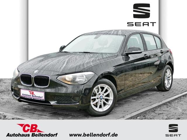 BMW 116 i+SHZ+BLUETOOTH+GARANTIE+LICHTSENSOR+PDC+FREISPRECH+HU/AU NEU+ALU+KLIMAAUTOMATIK, Jahr 2014, Benzin