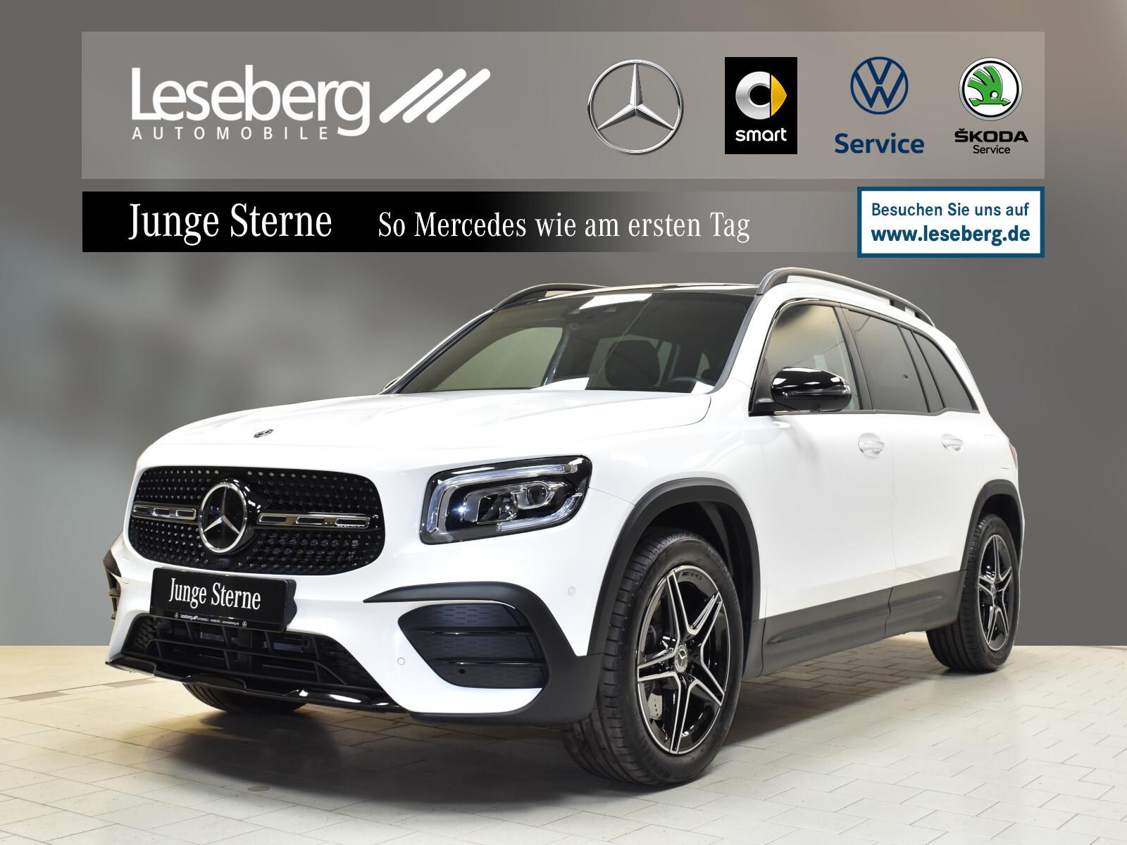 Mercedes-Benz GLB 250 4M AMGLine/Night/Fahrass/360°/Keyless/8G, Jahr 2019, Benzin