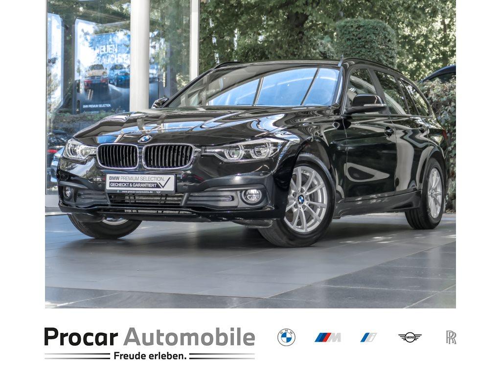 BMW 316d Touring LED Navigationssystem Tempomat PDC LED Scheinwerfer Sitzheizung vorne Freisprecheinrichtung Sport Lederlenkrad Comfort Paket, Jahr 2019, Diesel