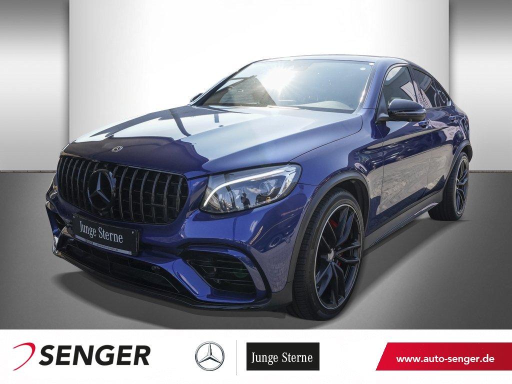 Mercedes-Benz GLC 63 S 4M AMG COUPÉ+AHK+360°KAMERA+COMAND+SHD, Jahr 2018, Benzin