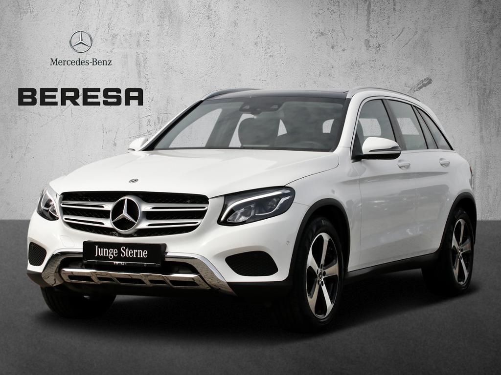 Mercedes-Benz GLC 300 4M HUD Pano.-Dach Spur-P. LED AHK Kamera, Jahr 2017, petrol