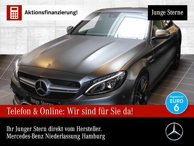 Mercedes-Benz C 63 AMG designo Perf-AbGas LED 19'' Burmester, Jahr 2018, Benzin