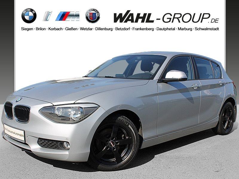 BMW 118d 5-Türer Klimaaut. PDC, Jahr 2013, diesel