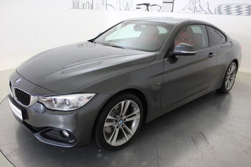BMW 428i Coupé Xenon GSD Fl.Ass. abbl. Spiegel USB, Jahr 2014, Benzin