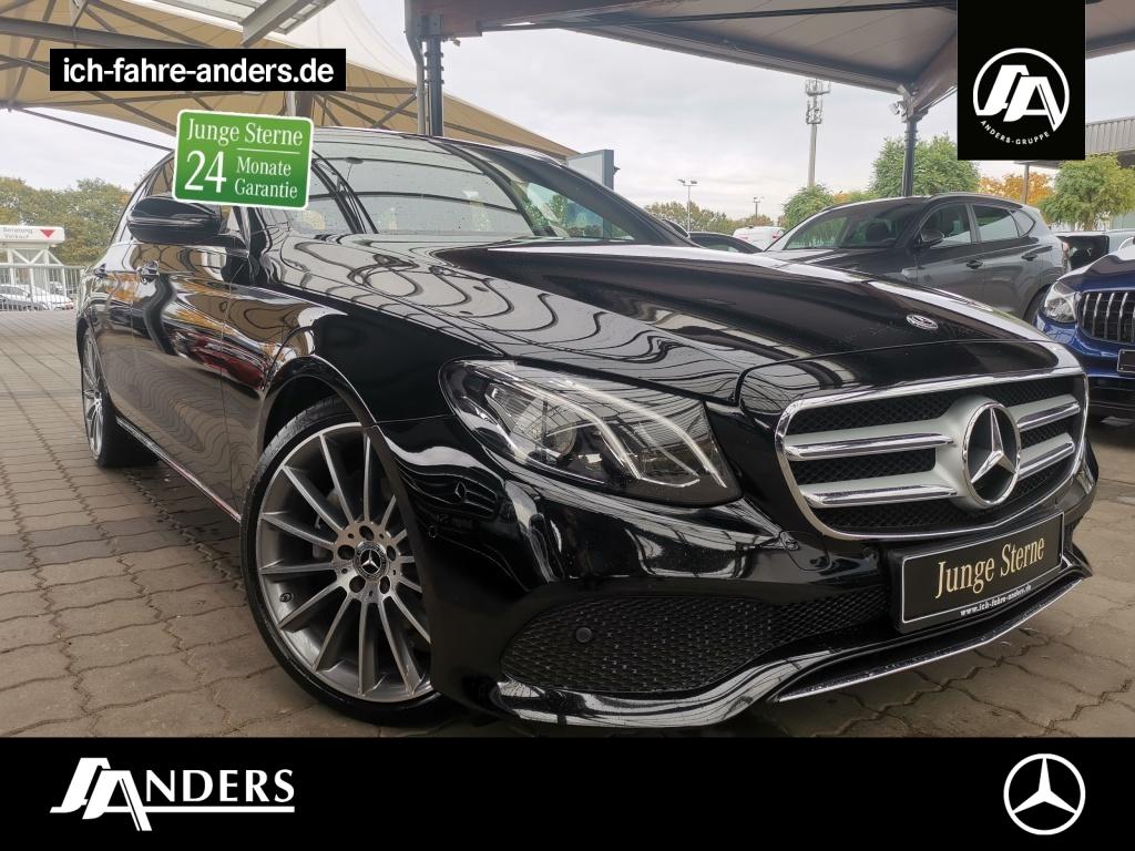 Mercedes-Benz E 300 d T Avantgarde+Pano+LED+AHK+Kam+Wide+Navi, Jahr 2018, Diesel