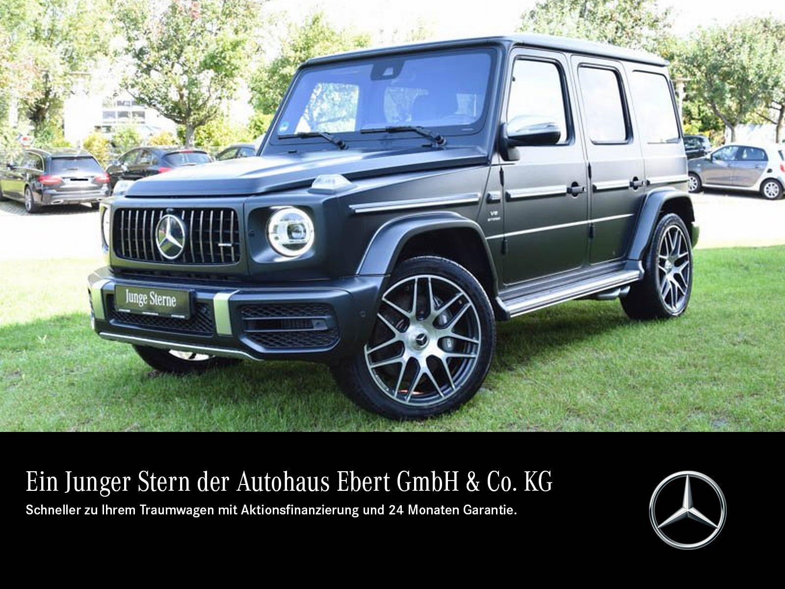 Mercedes-Benz G 63 AMG STRONGER THAN TIME DRIVER'S+360+AHK+LED, Jahr 2019, Benzin