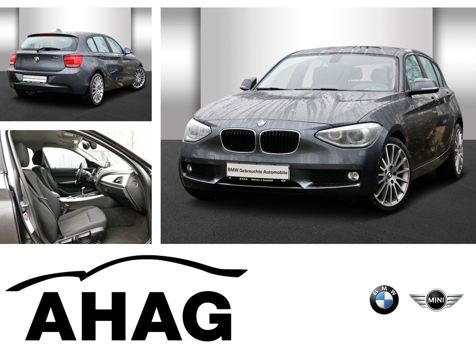 BMW 114i Navi Business Klimaaut. Xenon, Jahr 2012, petrol