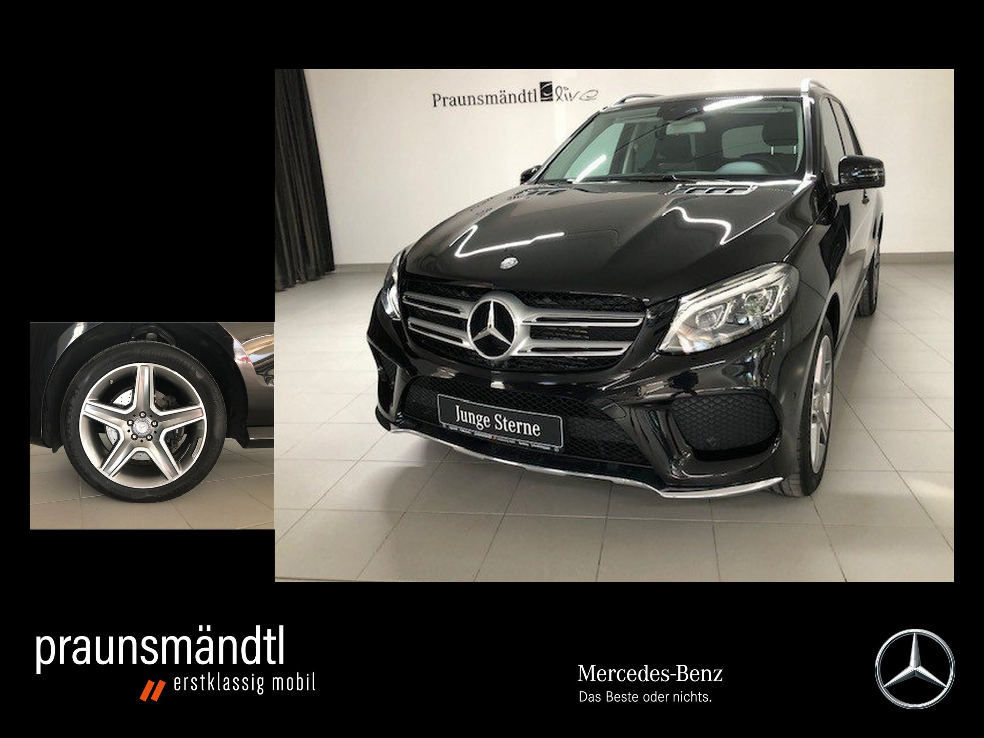 "Mercedes-Benz GLE 250 d 4M AMG 9ATG/LED/Comand/360°/PTS/20""LMR, Jahr 2016, diesel"