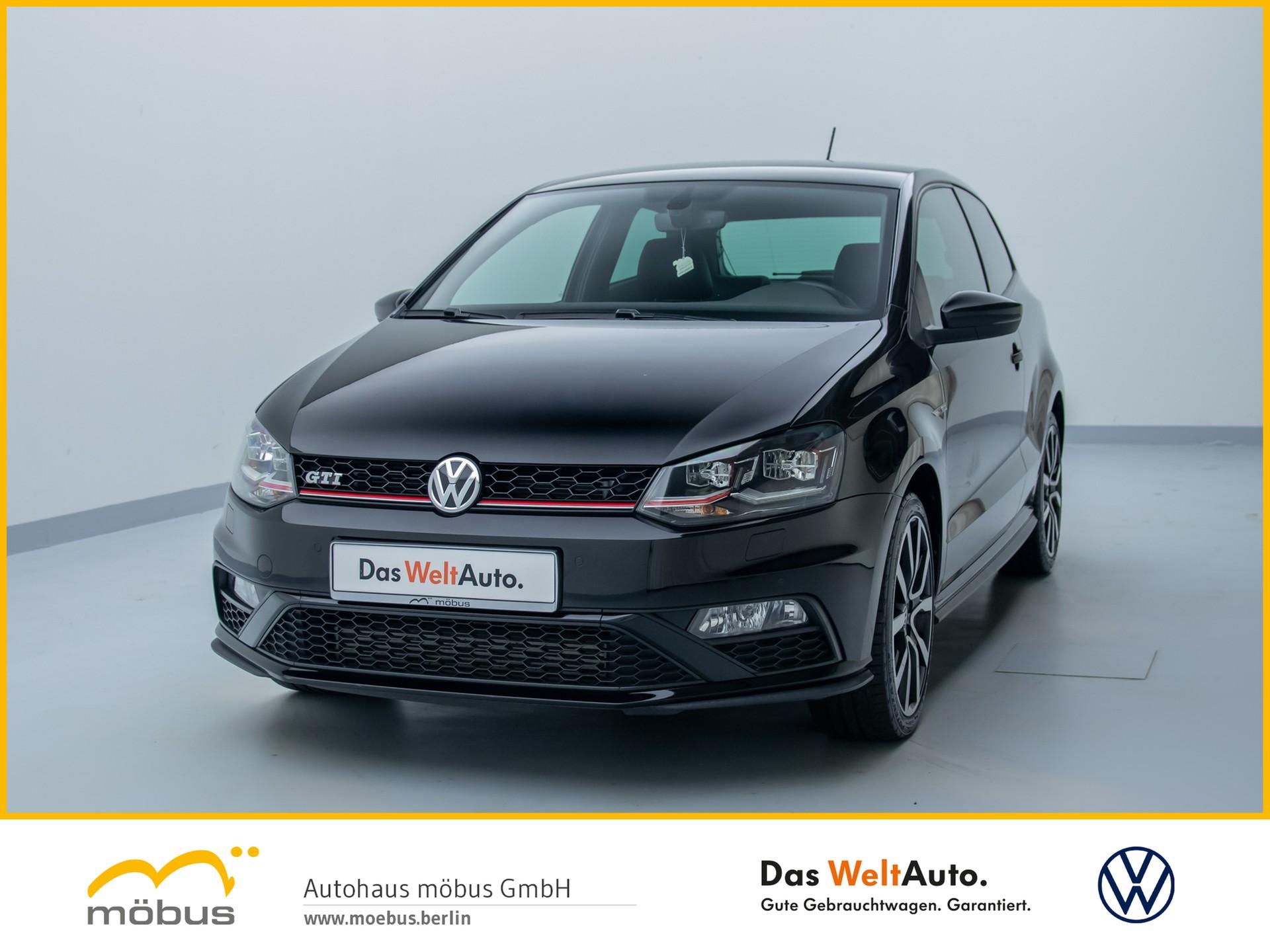Volkswagen Polo 1.8 TSI GTI LED+NAVIGATION+PDC+KLIMA+GRA, Jahr 2016, Benzin