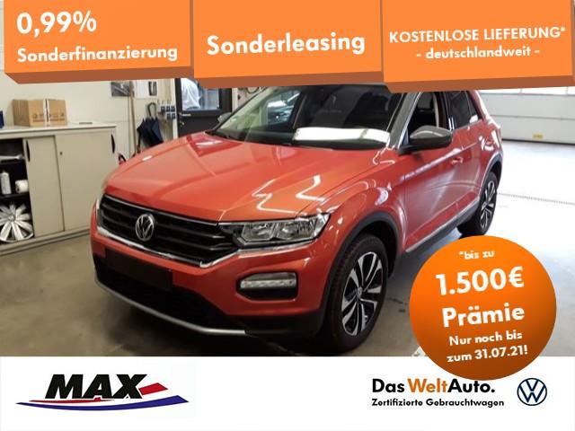 """Volkswagen T-Roc 1.5 TSI IQ.DRIVE ACC+PDC+SITZHZG.+ALU 17""""+, Jahr 2020, petrol"""