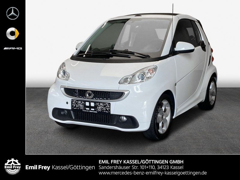 smart fortwo cabrio pulse Klima Automatik Navi, Jahr 2014, Benzin
