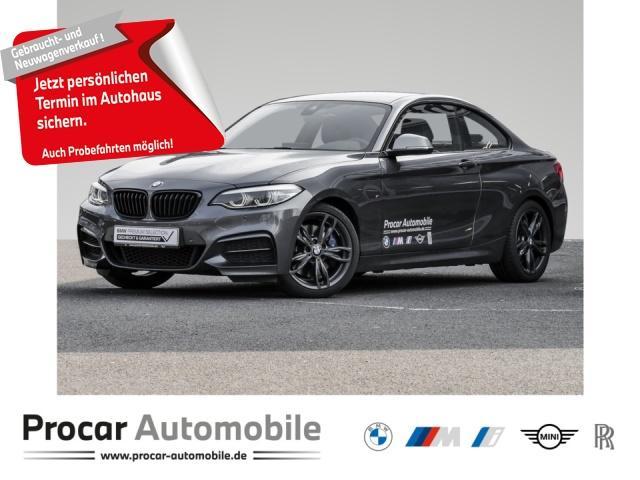 BMW M240i M240XI NAVI+PDC+ADAPTIVE-LED+SITZHZ+HIFI+LEDER++, Jahr 2018, Benzin