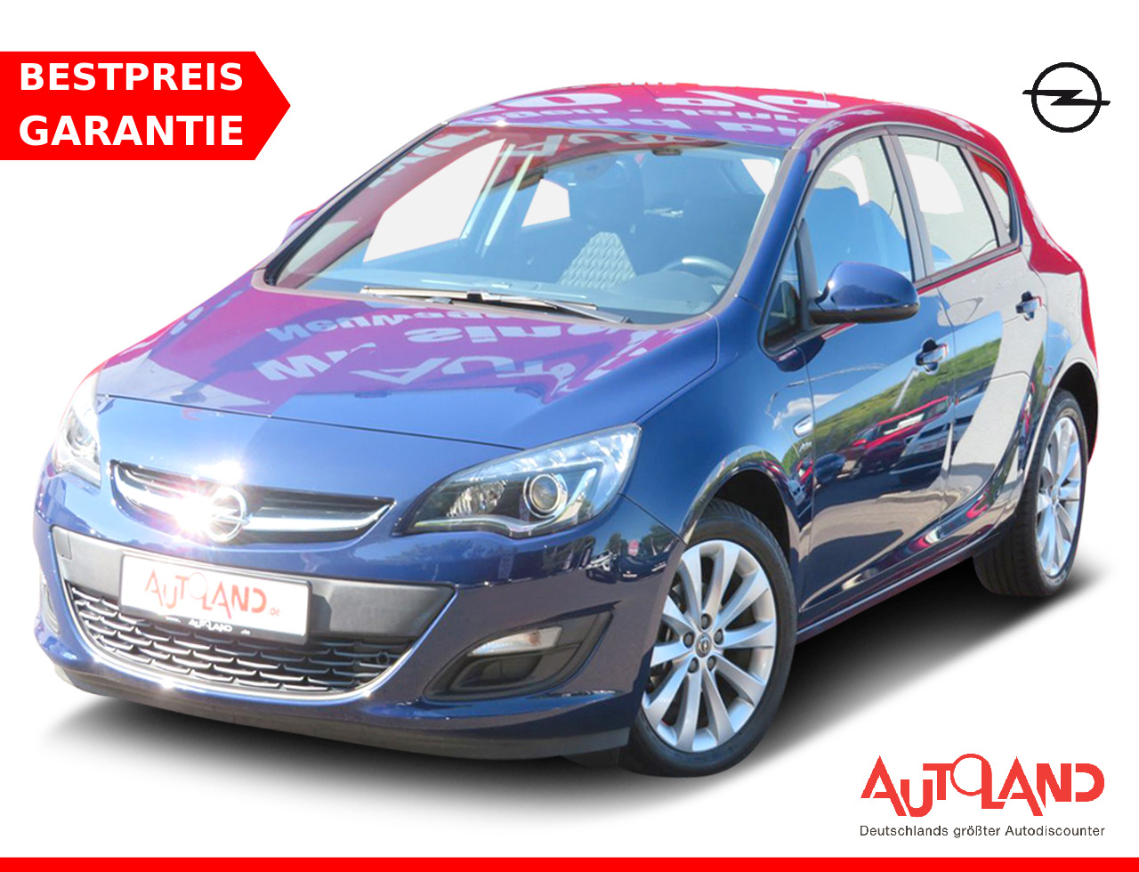 Opel Astra, Jahr 2013, Benzin