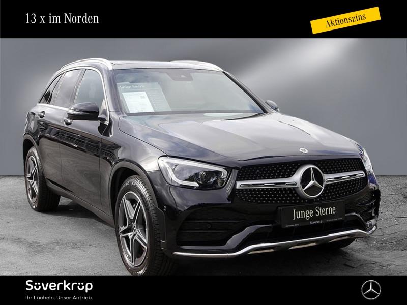 Mercedes-Benz GLC 400 d 4M AMG Pano.-Dach/Spur-P./LED/AHK, Jahr 2020, Diesel