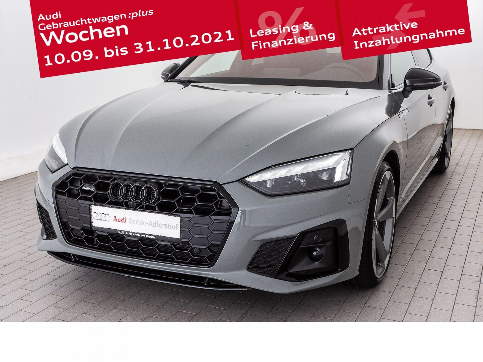 Audi A5 Sportback 40 TDI qu.S tr. AHK PANO STDHZG, Jahr 2021, Diesel