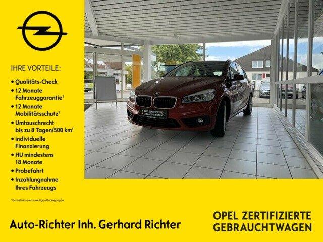 BMW 218d Active Tourer Aut. Sport Line, Jahr 2016, Diesel