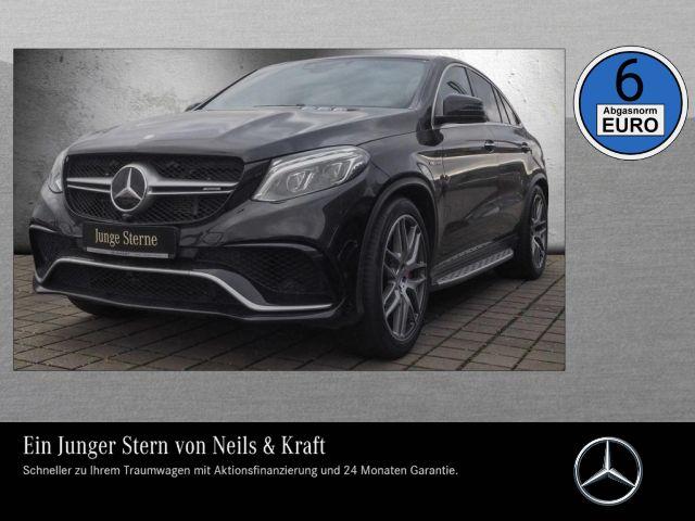 Mercedes-Benz GLE 63 S AMG Coupé DRIVERS+585PS+ALLE ASSISTENZ+, Jahr 2016, petrol