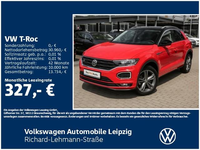 Volkswagen T-Roc Style 2.0 TDI DSG R-Line *Navi*Park Assist*, Jahr 2019, Diesel