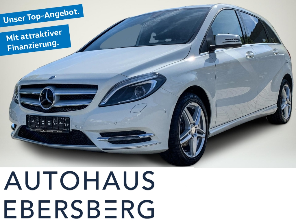 Mercedes-Benz B 200 Blue Eff Sport Xen+ LED Park-Assist LM17, Jahr 2014, Benzin