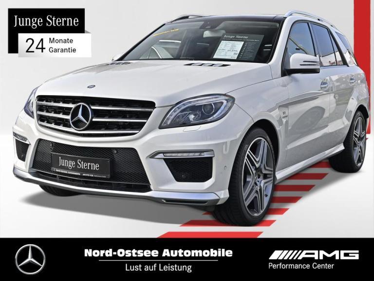 Mercedes-Benz ML 63 AMG Comand 4M Kamera Drivers P. AHK Pano, Jahr 2015, Benzin