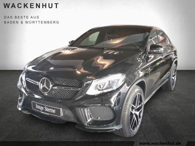 Mercedes-Benz GLE 400 Coupe 4Matic AMG Night Pano Distronic, Jahr 2016, petrol