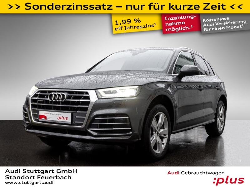 Audi Q5 2.0 TFSI quattro S line LED virtCo Keyless, Jahr 2017, Benzin