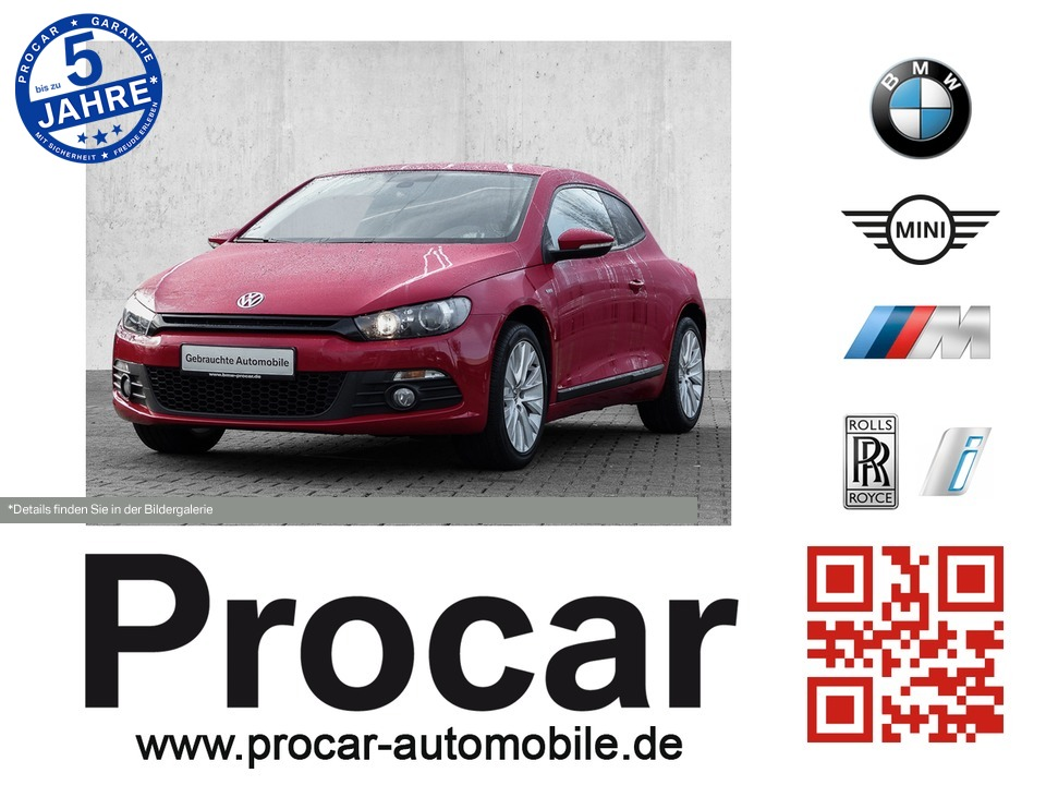 Volkswagen Scirocco 1.4 TSI Navi Kamera PDC HiFi, Jahr 2013, Benzin