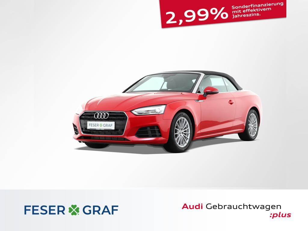 Audi A5 Cabrio 2.0 FSI S tronic Navi Sitzhzg Alu-17`, Jahr 2018, Benzin