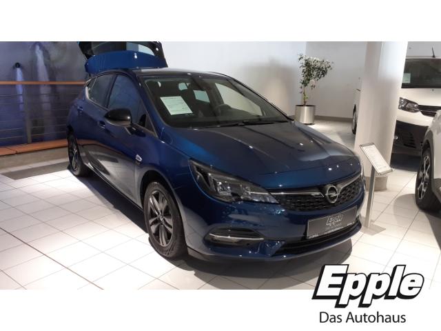 Opel Astra K 5türig 2020 Start Stop 1.2 Turbo EU6d LED LED-Tagfahrlicht Beheizb. Frontsch., Jahr 2020, Benzin