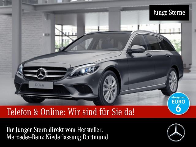 Mercedes-Benz C 220 d T Avantgarde Stdhzg Pano Multibeam Distr., Jahr 2018, Diesel