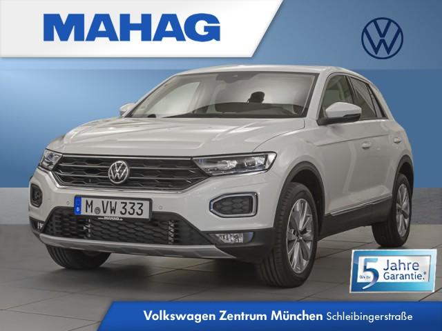 Volkswagen T-ROC Style 1.5 TSI AHK Navi Fahrerassistenzpaket Plus 7-Gang-Doppelkupplungsgetriebe DSG, Jahr 2021, Benzin