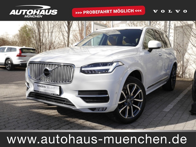 Volvo XC 90 D5 DPF AWD Inscription EURO 6d-TEMP, Jahr 2017, Diesel